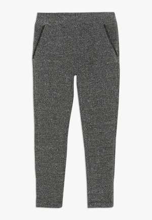 TROUSERS - Kalhoty - dark grey melange