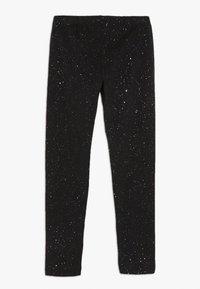 OVS - SPRAY GLITTER - Leggings - black beauty - 1