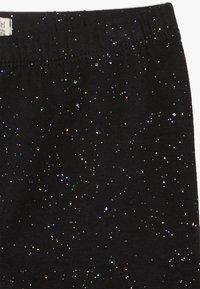 OVS - SPRAY GLITTER - Leggings - black beauty - 3