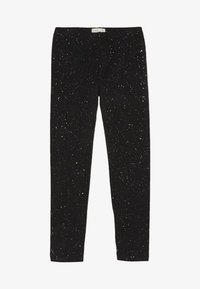 OVS - SPRAY GLITTER - Leggings - black beauty - 2