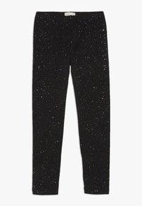 OVS - SPRAY GLITTER - Leggings - black beauty - 0