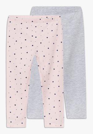 2 PACK - Legging - chalk pink