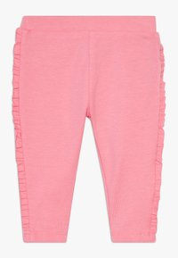 OVS - WITH ROUCHE 2 PACK - Legging - calypso coral/barely pink - 2