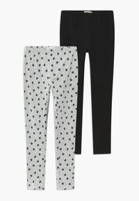 OVS - 2 PACK - Leggings - Trousers - pirate black - 0