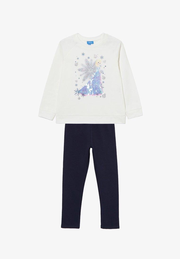 OVS - Sweatshirt - white/blue