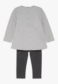 OVS - BABY DRESS MINNIE SET  - Leggings - medium grey melange - 1