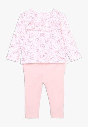 BABY SET - Tygbyxor - flamingo pink