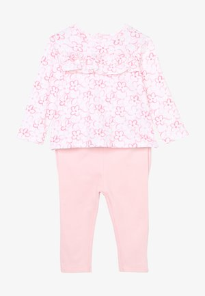 BABY SET - Trousers - flamingo pink