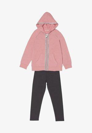 SETS - Sudadera con cremallera - grey/pink