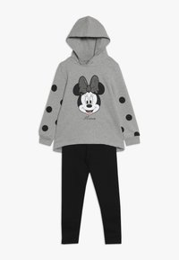 OVS - JOGGING MINNIE SET - Mikina s kapucí - frost gray - 0