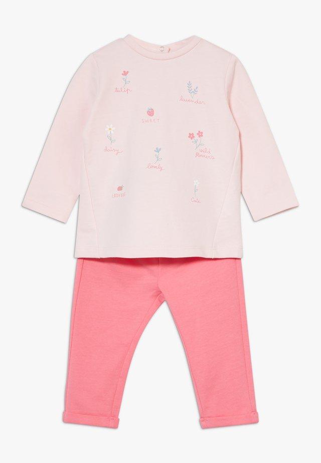 SET  - Bluza - barely pink