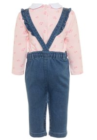 OVS - SALOPETTE SET - Tuinbroek - faded denim - 1