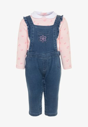 SALOPETTE SET - Dungarees - faded denim