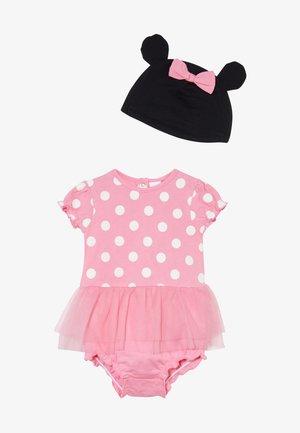ROMPER HAT SET - Berretto - sachet pink