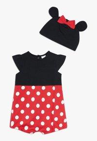 OVS - ROMPER HAT SET - Bonnet - black bean - 0