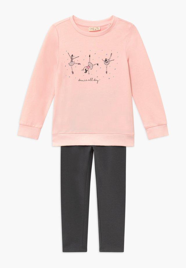 SET - Sweatshirt - creole pink