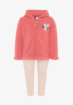 MINNIE SET - Mikina na zip - desert rose