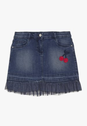 SKIRT - Jeansrok - ensign blue