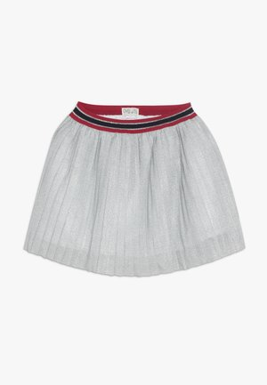 PLISSE SKIRT - Minirok - snow white