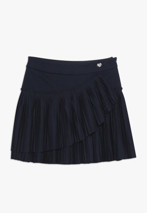 PLISSE SKIRT - A-lijn rok - dress blues