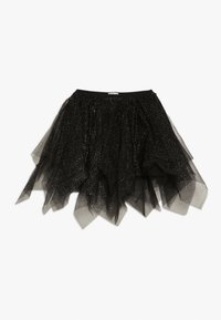OVS - SKIRT SPRAY FOIL - A-lijn rok - black beauty - 0