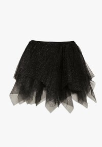 OVS - SKIRT SPRAY FOIL - A-lijn rok - black beauty - 1
