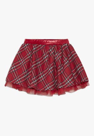 CHECKED SKIRT - Minirok - chrysanthemum