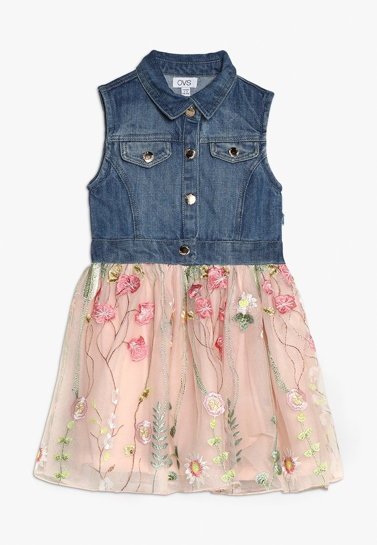 OVS - DRESS GIRL - Robe en jean - stellar