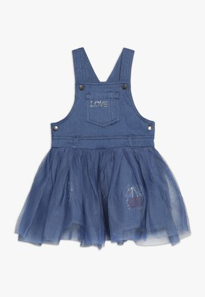 BABY OVERALL DRESS - Jeanskjole / cowboykjoler - bleached denim