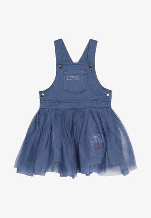BABY OVERALL DRESS - Denim dress - bleached denim