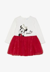 OVS - BABY DRESS MINNIE - Cocktailkjoler / festkjoler - brilliant white - 2