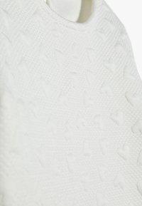 OVS - DRESS - Vestito di maglina - snow white - 4