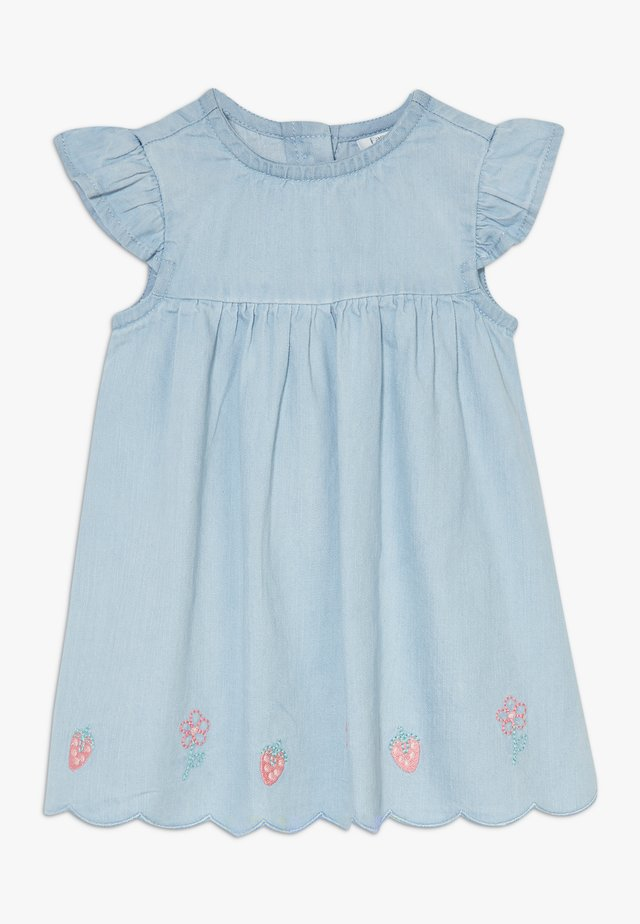DRESS - Spijkerjurk - faded denim