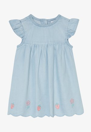 DRESS - Vestido vaquero - faded denim