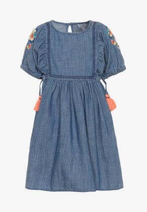 DRESS - Denim dress - ensign blue
