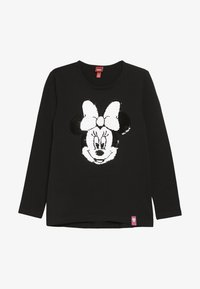 OVS - MINNIE - Langarmshirt - black beauty - 2