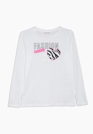 Camiseta de manga larga - blanc de blanc