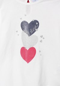 OVS - BABY PRINT 2 PACK - Longsleeve - bright white/rose red - 4