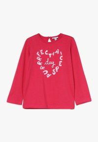 OVS - BABY PRINT 2 PACK - Longsleeve - bright white/rose red - 2