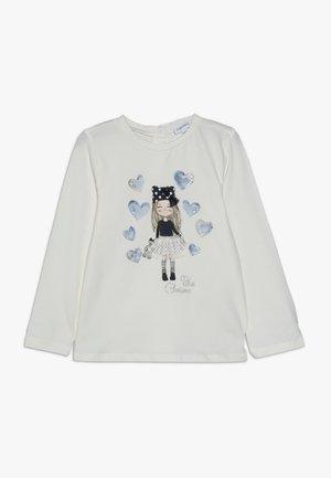BABY APPLICATION - Langærmede T-shirts - brilliant white