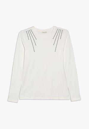 LONG SLEEVE - Top sdlouhým rukávem - blanc de blanc