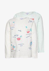 OVS - WITH PRINT 2 PACK - Longsleeve - cloud dancer/confetti - 0