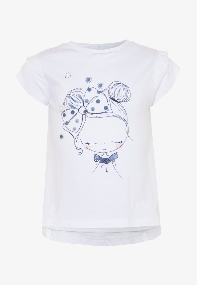 T-shirt print - brilliant white