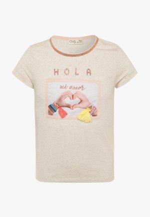 Camiseta estampada - gardenia