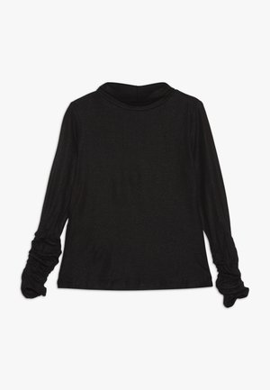 MOCK NECK - Top s dlouhým rukávem - pirate black
