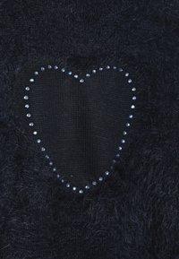 OVS - HAIRY JUMPER HEARTS - Trui - dress blues - 3