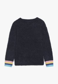OVS - ROUND SWEATER INTARSIA - Jumper - blue wing teal - 1