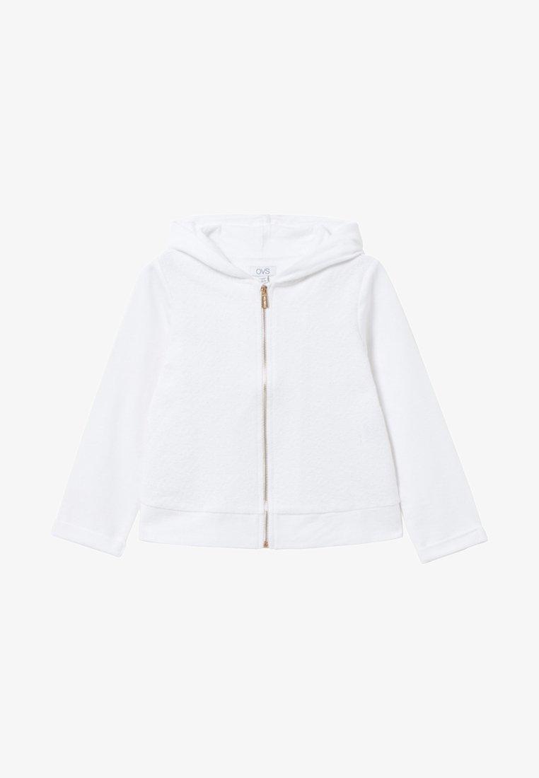 OVS - Zip-up hoodie - white