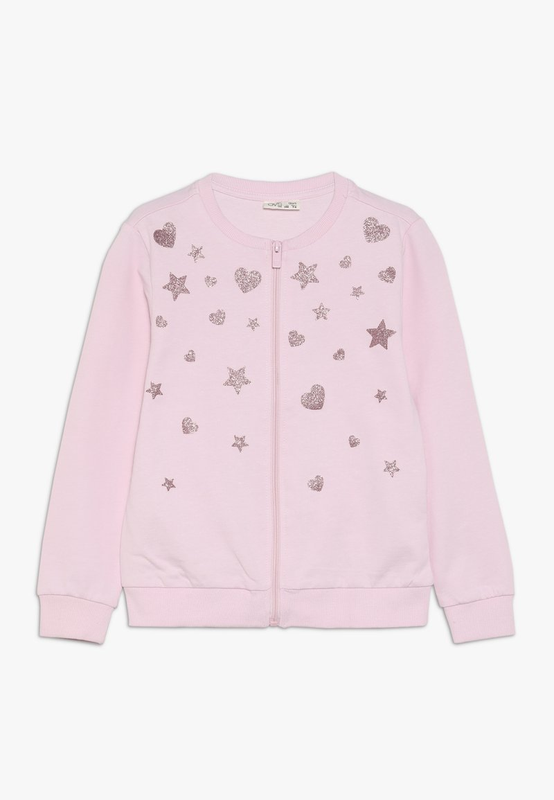 OVS - FULL ZIP - Sweatjacke - cherry blossom