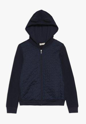 FULL ZIP WITH HOOD - Zip-up hoodie - dark blue